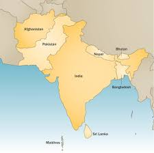 Pakistan On The Map The Map Of South Asia Major Tourist Attractions Maps