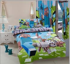 Duvet Covers Kids 3pcs Minecraft Bedding Sets 100 Cotton Kids Bed Linen With Duvet