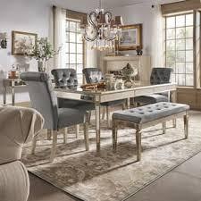 vintage dining room sets for less overstock com