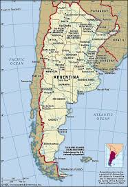 physical map of argentina argentina history facts map culture britannica