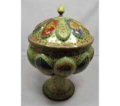Home Decoratives Buy Original Kashmir Papier Mache Bowl At Meraas