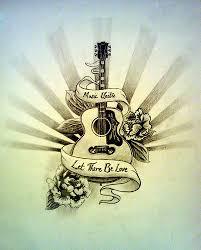 Guitar Tattoo Designs Ideas The 25 Best Guitar Tattoo Ideas On Pinterest Acoustic Guitar