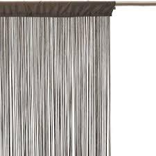 rideau fil 90x200cm taupe