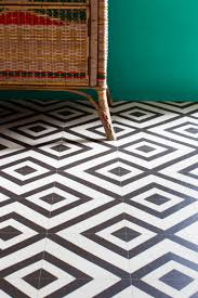 flooring patterned vinyl flooring black and white for modern