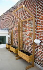 planter boxes with trellis google search gardening u0026 more