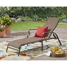 Patio Furniture Long Beach by Garden Oasis Long Beach Sling Chaise Lounge Chair Patio Outdoor