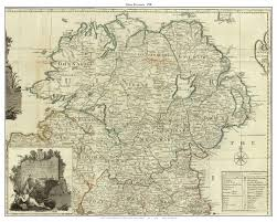 Map Of Massachusetts Towns by Old Maps Of Ireland Provinces From The 1790 Roque Map
