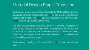 Transition Styles Css - 13 css page transitions free frontend