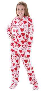 footie pajamas for 10 and up seasonal hoodie footie for