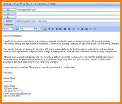 Format Of Mail For Sending Resume Sample Mail Format For Sending Resume To Hr Eliolera Com