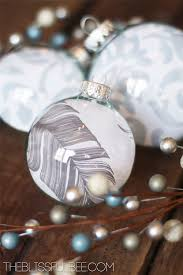 diy glass ornaments using scrapbook paper hometalk