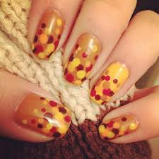30 cool thanksgiving and fall nail designs http hative cool