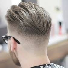 hair cuts back side taper fade short haircut with backside view and mid tier fade