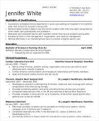 sample resume nursing student nurse resume sample for abroad