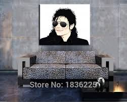 famous black and white paintings michael jackson oil painting