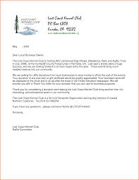 raffle donation letter letter idea 2018