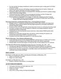 Resume Samples Business Management by Resume Sample Business Free Resume Example And Writing Download