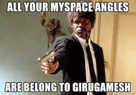 Girugamesh Meme - all your myspace angles are belong to girugamesh samuel l jackson