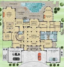 mediterranean house plans with pool mediterranean house plan filled with luxury 31828dn