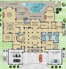 mediterranean house floor plans mediterranean house plan filled with luxury 31828dn