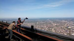 Sears Tower On Top Of The Sears Tower Chuck Przybyl Director Of
