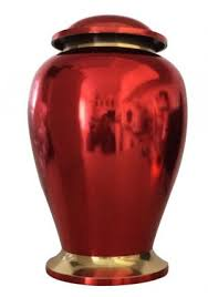 urn for human ashes reading ruby 7 inches funeral urn for human ashes medium