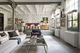 Loft Modern Industrial Modern Style Loft In New York With Cozy Interiors