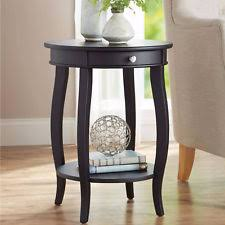 Wood Accent Table Better Homes And Gardens Round Accent Table With Drawer Multiple