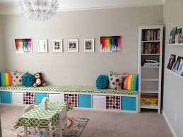 Storage Bench Seat Ikea Ikea Expedit Playroom Storage Bench Two Together To Go Down The