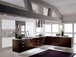 contemporary kitchen color trends ideas with white decoration room