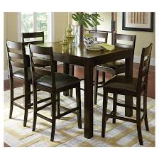 Amini Dining Room Furniture Amini Butterfly Counter Table Espresso Brown Target