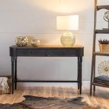 Antique Sofa Table Abbyson U0027antoni U0027 Antiqued Black Console Sofa Table Free Shipping