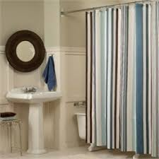 Chocolate Brown Shower Curtain Blue And Beige Shower Curtain Mark Fabric Shower Curtain Bluemark