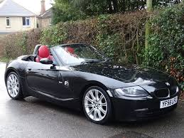 bmw red interior 2006 56 bmw z4 2 0 i sport 2dr m sport red heated leather