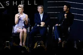 ghost film actress name why was scarlett johansson cast in ghost in the shell popsugar