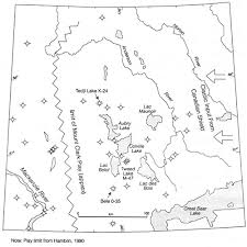 Interior Plains Population Petroleum Exploration In Northern Canada