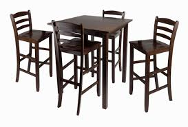 High Counter Table Kitchen Table Counter Height Pub Table High Top Dining Table