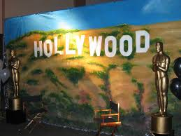 Hollywood Backdrop Hollywood Theme Party Packages Peach Entertainments