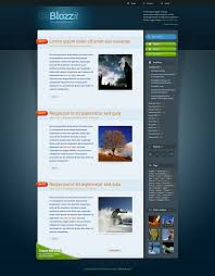 Free Template Html by Freebie Blozzit A Free Professional Html Css Web Template
