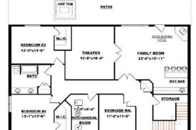 modular homes with basement floor plans 13 ranch house plans with basements craftsman ranch with finished