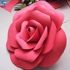 paper flower foam paper flower wall artificial paper flowers for