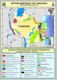Map East Africa by Geo Expro East Africa Rays Of A New Dawn