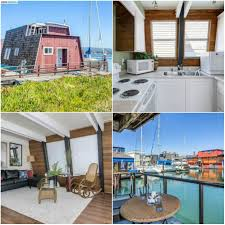 the 9 most unique homes listed for sale this week estately blog alameda floating home