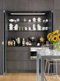 Serving Station Patio Cabinet Coffee Station Ideas