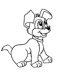 Dogs Coloring Pages Coloring Kids Dogs Color Pages