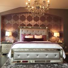 Ava Mirrored Bedroom Furniture Zgalleriemoment Greyhuntinteriors U0027 Made This Bedroom Sparkle