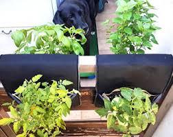 fence garden planter indoor fence vertical planter balcony