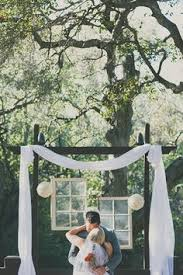 wedding backdrop initials this playful backdrop is great for a casual outdoor wedding and
