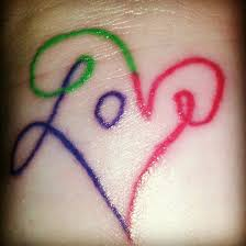 7 best cute love tattoos for girls images on pinterest face