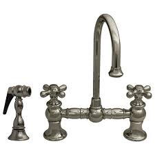 whitehaus kitchen faucet whitehaus whkbcr3 9106 vintage iii 5 1 4 inch entertainment prep